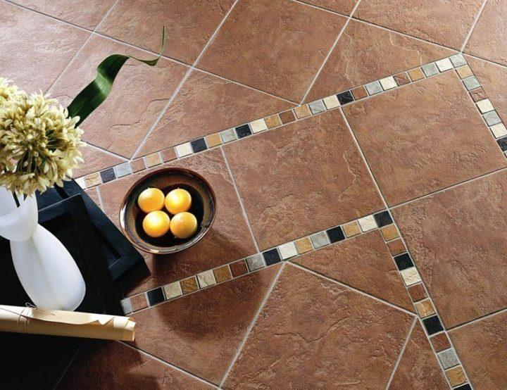 Плитка из керамики на пол