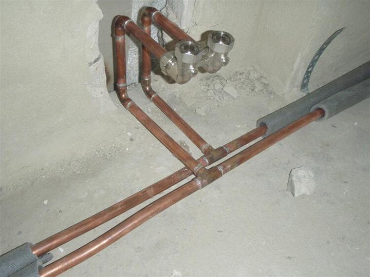 Отопительная система из труб