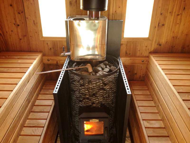 банная печь с дровами
